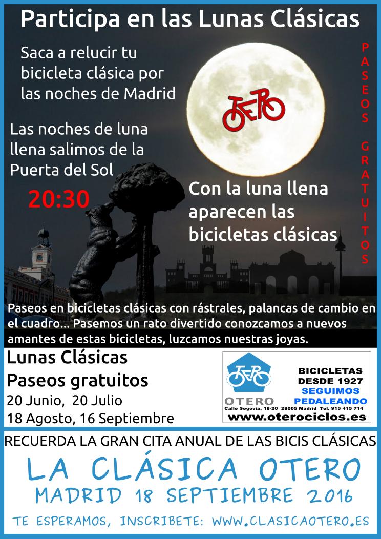 Lunas Clásicas,Noches mágicas en Madrid