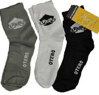 CALCETINES OTERO PACK-3 BLANCO/NEGRO/GRIS TALLA M