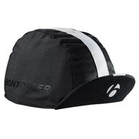 Gorra de ciclismo de algodón Bontrager Talla Única Negro