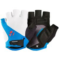 Guantes Bontrager Race Gel M Blanco/Waterloo Blue