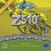 CADENA K.M.C.  Z-510S  BMX  1V CROMADO