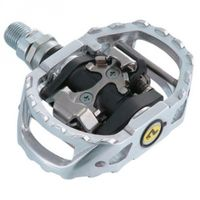 PEDALES SHIMANO M-545 SPD SILVER
