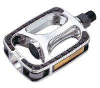 Pedal VP608 9/16 Plata/negro