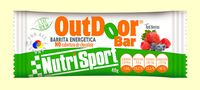 BARRITA ENERGÉTICA NUTRISPORT OUTDOOR BAR RED BERRIES